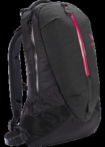 Arro-22-Backpack-Black-Violet-Wine